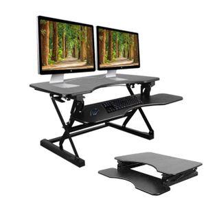 서서 일하는 스탠드 책상 높이조절 키높이 테이블