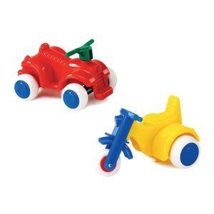 커비 바이크 4종 10cm 세트 유아 어린이 장난감