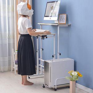 높이조절 스탠딩책상세트 각도조절 책상 이동식