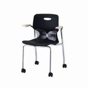 하이팩 팔걸이 바퀴 의자 암체어 다용도 사무실 학원