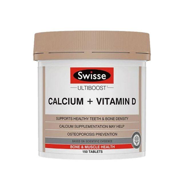 [해외] Swisse 칼슘과 비타민 D VitaminD 150정