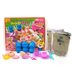 유아 모래놀이 소꿉놀이 촉감 역할 놀이 테이블 세트