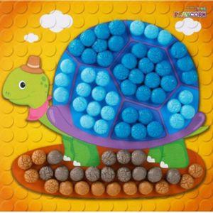 플레이콘 모자이크(거북이)1인용 10매