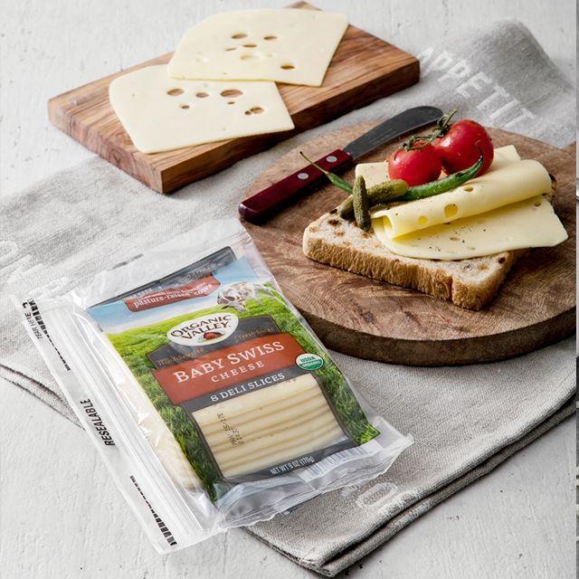 베이비 스위스 슬라이스 치즈 170g 12개 세트,치즈,체다치즈,슬라이스치즈,모짜렐라치즈