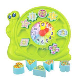 유아 아동 숫자 시계 시간 공부 학습 블록 놀이 세트