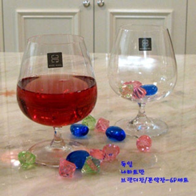 나하트만 비벤디 브랜디잔 6개 위스키 언더락 물컵 [제작 대량 도매 로고 인쇄 레이저 마킹 각인 나염 실크 uv 포장 공장 문의는 네이뽕]