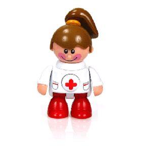 역할놀이 장난감  간호사 소리나는 관절인형 병원