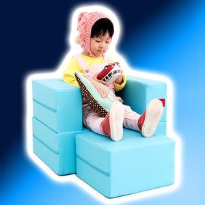 큐피트 키즈 큐브 1인용 쇼파베드