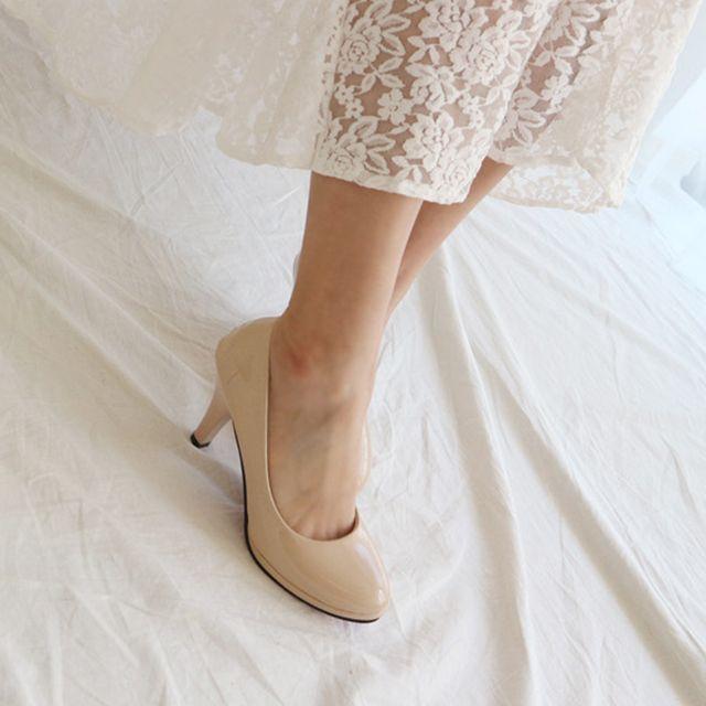 여성 기본 펌프스힐 하이힐 오피스룩 정장구두 신발