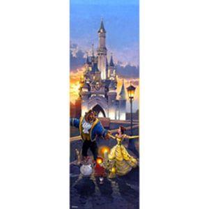 미녀와 야수 크리스탈 퍼즐 456pcs 18.5x55.5cm