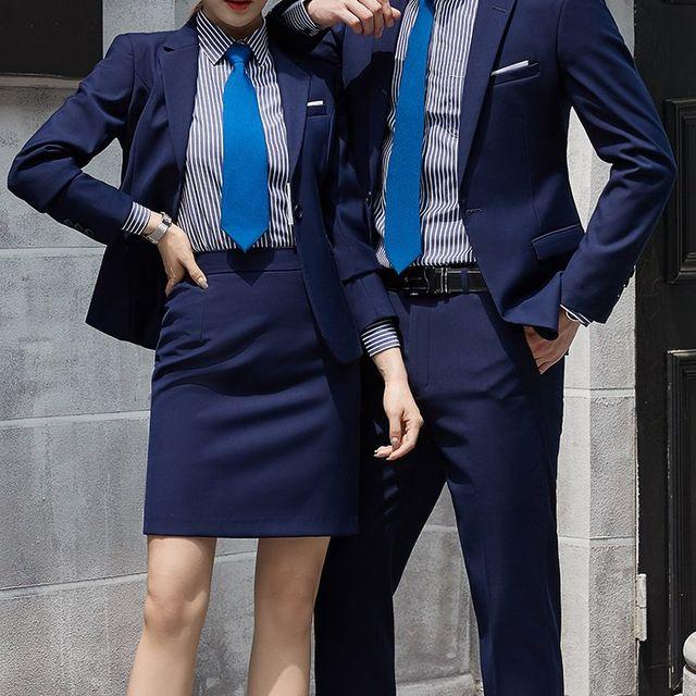 [해외] 여성 패션 재킷 자켓 정장세트녀를위한 전문 정장