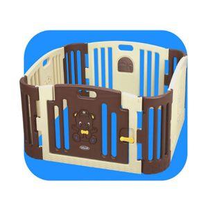 어린이집 유치원 실내 공간 아기 곰 놀이방 브라운