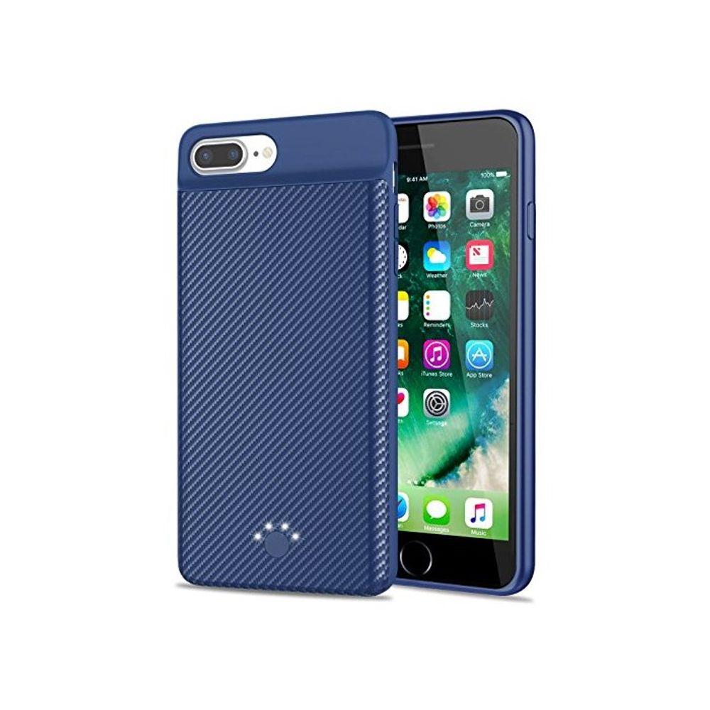 [더산직구]Upgraded 아이폰 7 Plus 8 배터리 케이스 Emishine/ 영업일기준 5~15일
