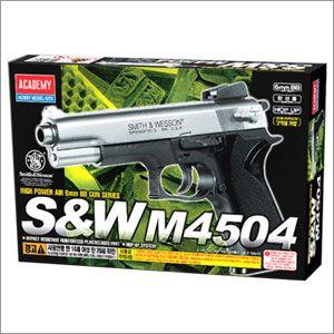 장난감 모형 총 비비 BB 탄 에어건 완성품 M4504