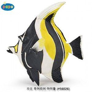 파포 해양동물 피규어 모형 완구 물고기 장난감 소