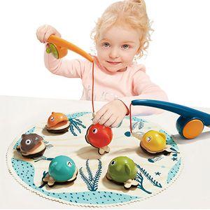 낚시놀이 게임 원목완구 어린이 장난감 가족놀이