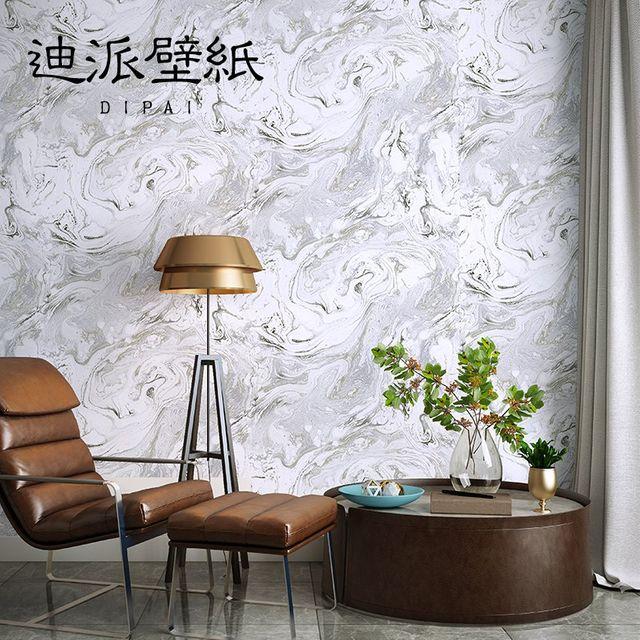 [해외] 실크벽지 모조 대리석 벽