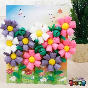 플레이콘 가을꽃액자(코스모스) 10매