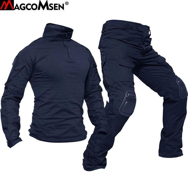 [해외] MAGCOMSEN 전술 유니폼 세트 남자 위장 군사 장난감