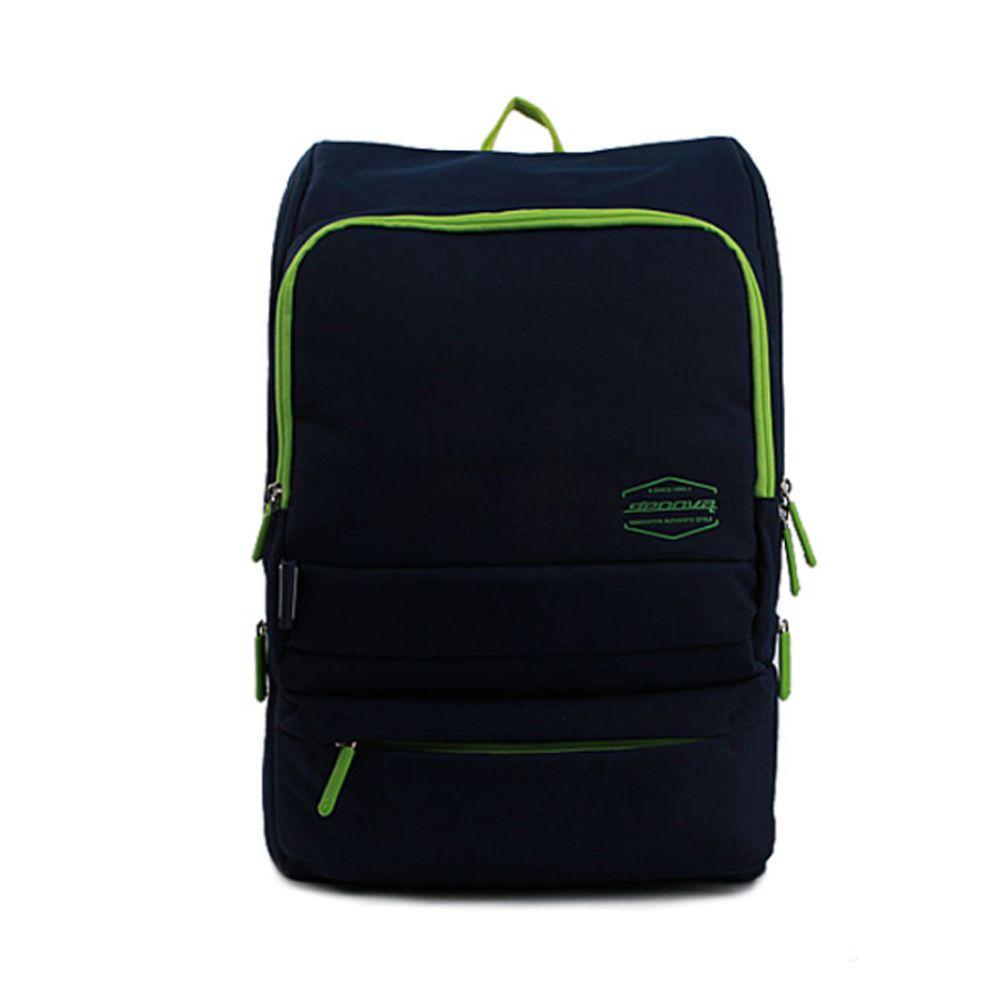 노트북 백팩 학생 스퀘어 책가방 데일리 가방 네이비