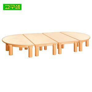 어린이 자작합판 안전 영아 책상 H3-1