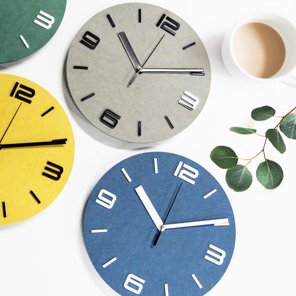 [FABD41] 무소음 비비드 시계 홈데코 무소음벽시계 인테리어소품