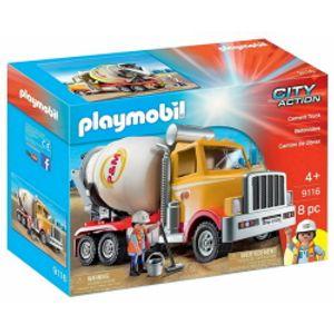 플레이모빌 레미콘 트럭