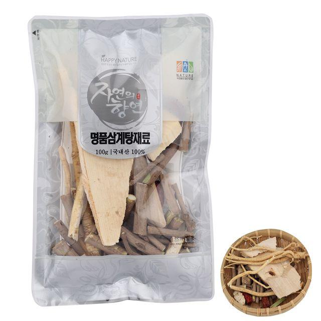 자연의향연 삼계탕재료 100g 산지직송