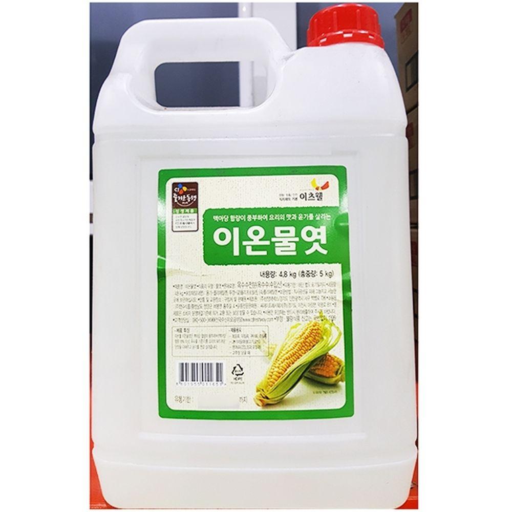 이츠웰 흰물엿 대용량식자재 물엿 (5KgX3개)