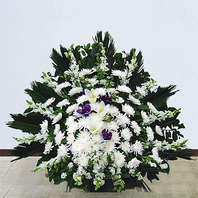 근조바구니 특급-중급 꽃배달서비스