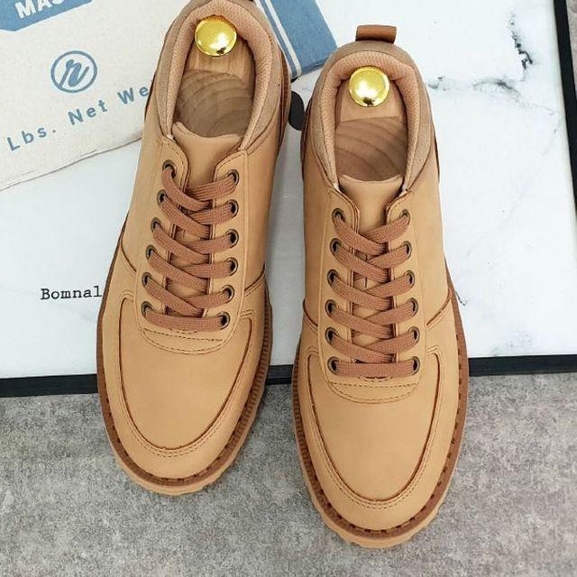 W 남성 로퍼 워킹화 베럴 스니커즈 구두 신발 2색