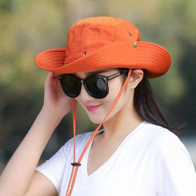 W 여자 썬캡 자외선차단 비치모자 햇빛가리개 등산 선캡