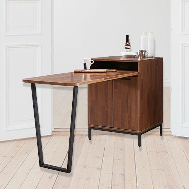 2인용 식탁겸 수납 렌지대 홈바 수납 테이블 600