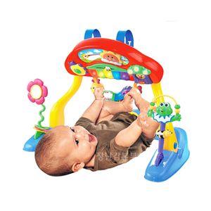 발차기 다기능 아기체육관 멜로디 밝은불빛 건반 앉아서 엎드려서 만지며 놀아요
