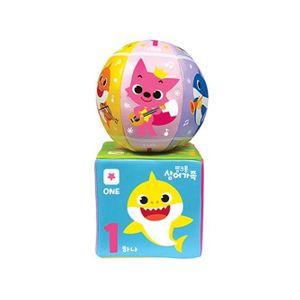 주영 핑크퐁 상어가족 주사위 볼세트 유아 장난감공