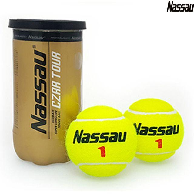 낫소스포츠 한국단식 테니스협회 공식구 테니스공 2개