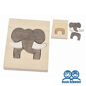 어린이집 놀이 코끼리 그림 퍼즐 원목 교구 어린이집