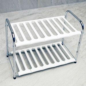싱크대 정리선반 조립식선반 높이조절가능 편리한수납