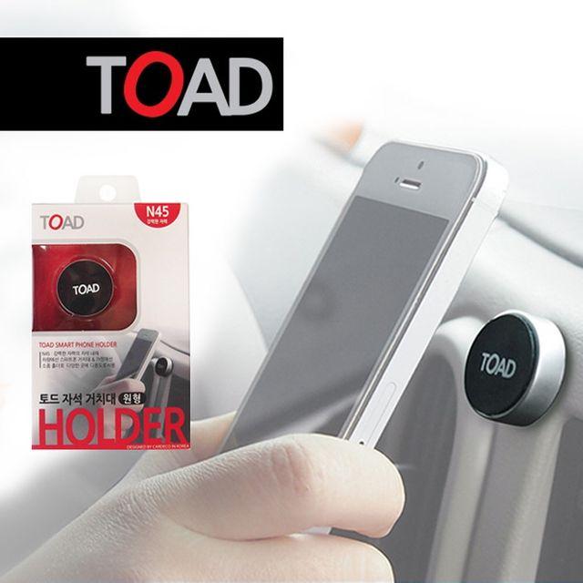 W 토드342 전기종 스마트폰 차량거치대 자석원형