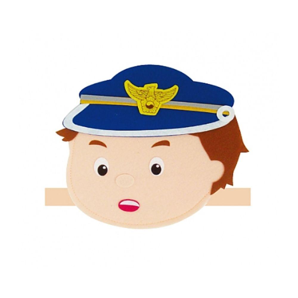 [FB0F11] 경찰 직업 머리띠
