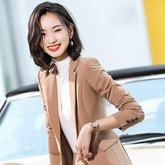 [해외] 여성 패션 재킷 자켓 정장세트성 패션 전문 정장