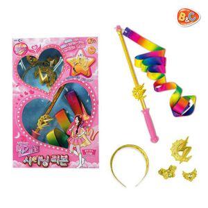 어린이 번개걸 리본 왕관 번개맨 변신 놀이 장난감