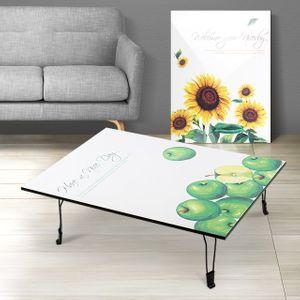 테이블 800 액자 폴딩 노트북 간이 다용도 원목 원룸