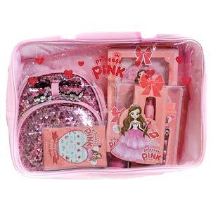 핑크공주놀이 키즈 컬러네일스티커+마스크팩+립크레용