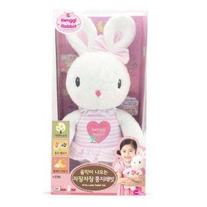 콩지래빗 토끼 인형 어린이 놀이 멜로디 완구 장난감