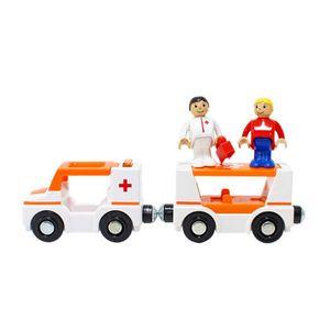 아이 유아 놀이 완구 자석 응급차 어린이 장난감 선물