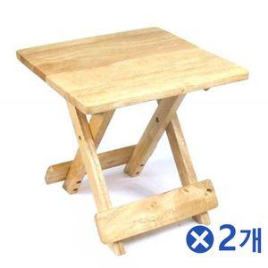 미니 사각 접이식 테이블x2개 미니좌식테이블