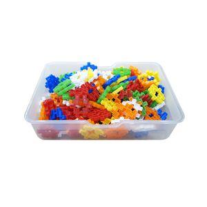 유아 만들기 장난감 블록 미니 사각 블럭 바구니 선물