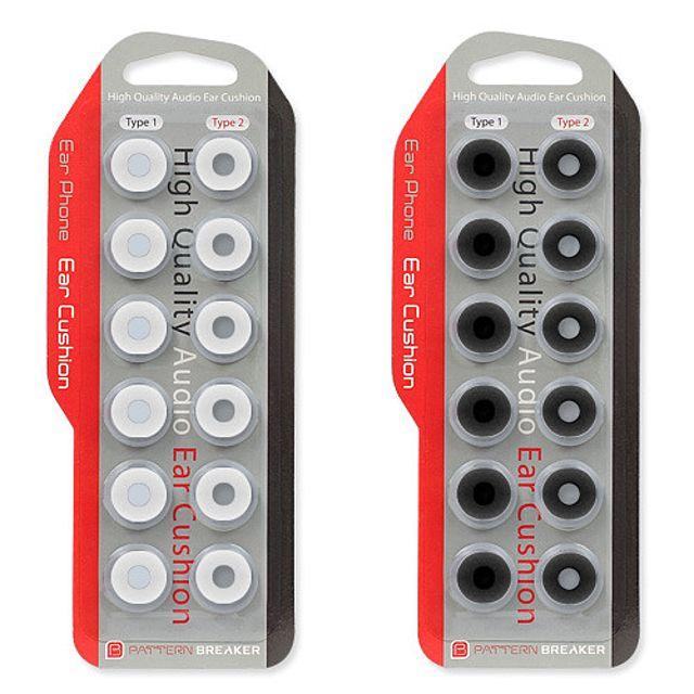 PB正品 노멀 오픈 2가지 타입 프리미엄 신개념 이어폰 솜 이어폰패드 6쌍 1SET