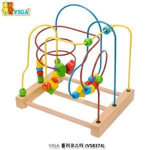 비가 영유아 오감 발달 장난감 롤러코스터